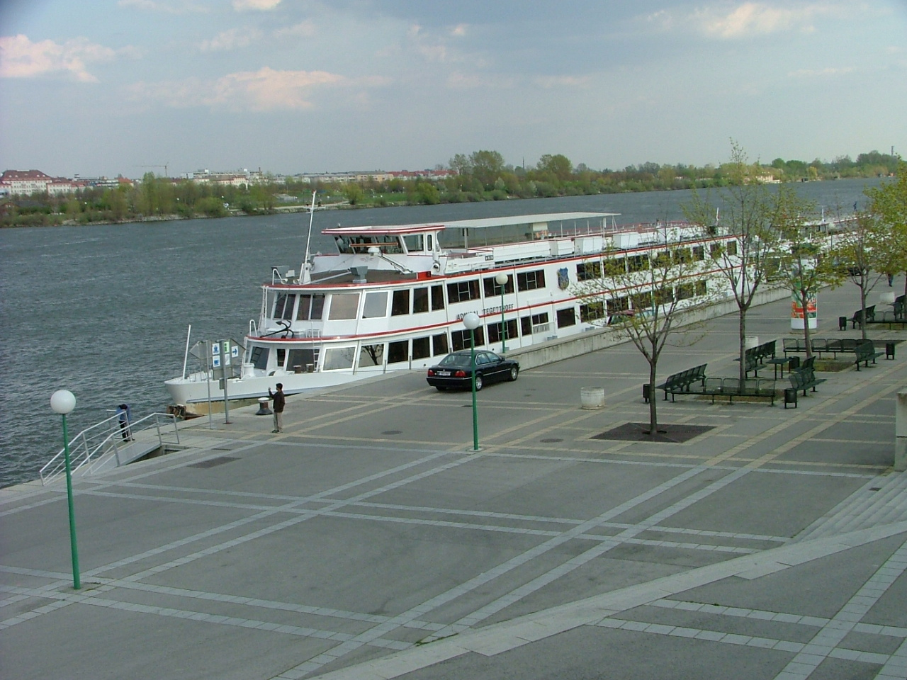 Docked in Vienna